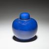 1068 藍釉 茶壺  JPY 80,000〜