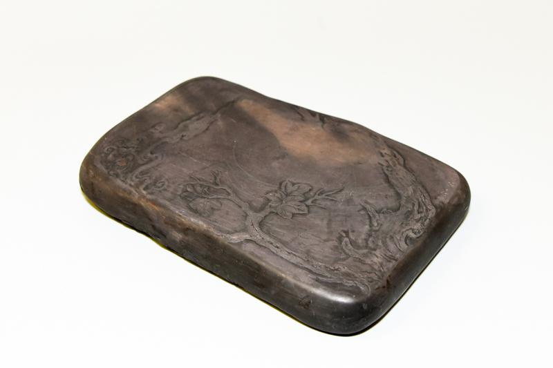 3 端渓老坑石 桐樹硯 ¥400,000