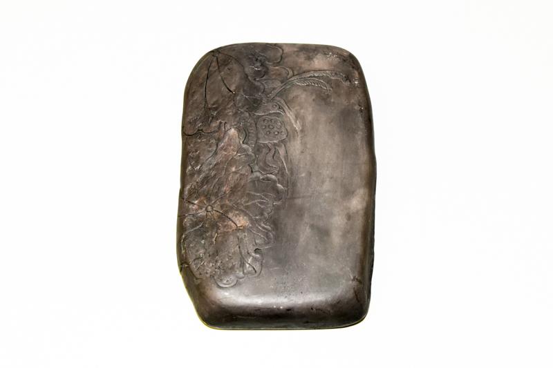 12 端渓老坑小西洞石 祥雲天然硯 ¥300,000